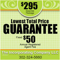 Incorporate in Delaware - Lowest Price Guaranteed